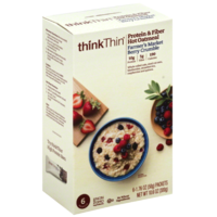 ThinkThin Farmer's Market Berry Crumble Protein & Fiber Hot Oatmeal