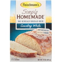Fleischmann's Simply Homemade Country White No Knead Bread Mix