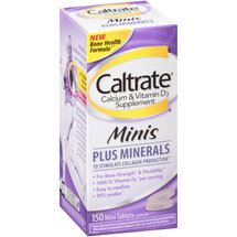 Caltrate Calcium & Vitamin D3 Supplement Plus Minerals Mini Tablets