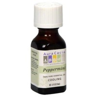 Aura Cacia Pure Essential Oils Peppermint