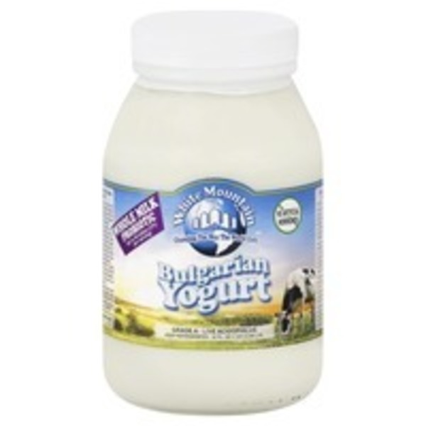 White Mountain Whole Milk Bulgarian Yogurt Probiotic
