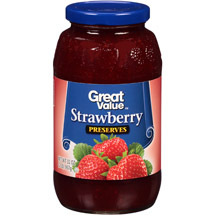 Great Value Strawberry Preserves