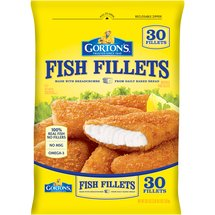 Gortons Crunchy Breaded 30 Ct Fish Fillets