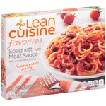 Stouffer's Lean Cuisine One Dish Favorites Spaghetti With Meat Sauce