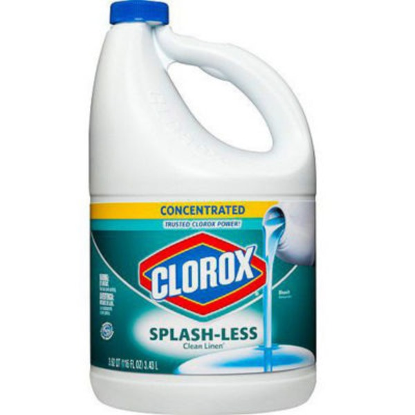 Clorox Clean Linen Concentrated Splash-less Liquid Bleach