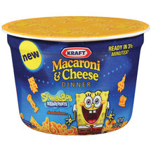 Kraft Dinners Spongebob Squarepants Macaroni & Cheese Dinner