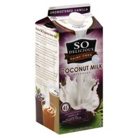 So Delicious Dairy Free Unsweetened Coconut Milk