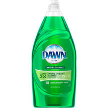 Dawn Ultra Concentrated Antibacterial Hand Soap Apple Blossom Scent Dishwashing Liquid 38 Fl Oz