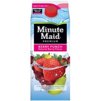 Minute Maid Berry Punch Flavored Fruit Drink