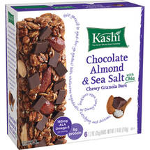 Kashi Chocolate Almond & Sea Salt Chia Chewy Granola Bars