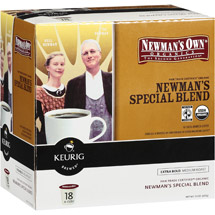 Newman's Special Blend Extra Bold K-Cup Organic Coffee