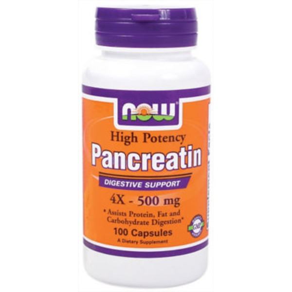 Now Pancreatine 2000 Mg