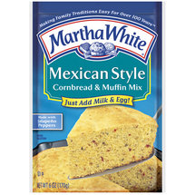 Martha White Cornbread & Muffin Mix Mexican Style