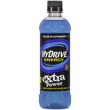 HyDrive Energy Extra Power Blue Raspberry Energy Drink