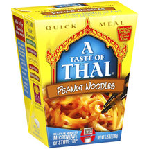 A Taste Of Thai Peanut Noodles