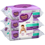 Parent's Choice Unscented Flip-Top Baby Wipes Triple Pack