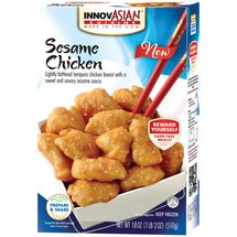 InnovAsian Cuisine Sesame Chicken Frozen Dinner