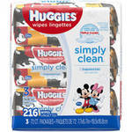 Huggies Simply Clean Disney Baby Wipes