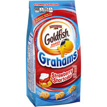 Pepperidge Farm Goldfish Grahams Strawberry Shortcake Baked Graham Snacks