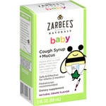 Zarbee's Naturals Baby Grape Flavor Cough Syrup + Mucus
