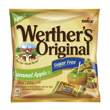 Werthers Sugar Free Caramel Apple Hard Candies