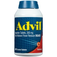 Advil Coated Tablets Pain Reliever/Fever Reducer