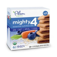 Plum Tots Blueberry Mighty Snack Bars