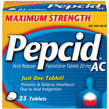 Pepcid Maximum Strength AC Acid Reducer