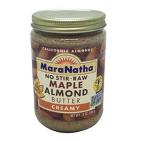 Maranatha Raw Maple Almond Butter, No-Stir, Creamy