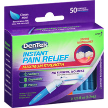 DenTek Maximum Strength Clean Mint Oral Pain Reliever