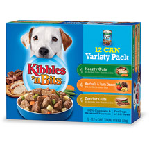 Kibbles 'N Bits Variety Pack Canned Dog Food