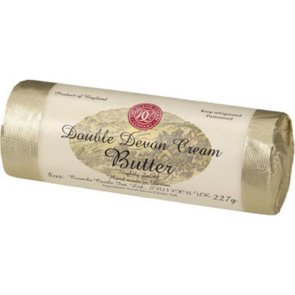 The Devon Cream Company Double Devon Cream Butter Slightly Salted