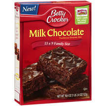 Betty Crocker Milk Chocolate Brownie Mix