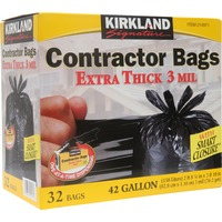 Kirkland Signature Extra Thick 42 Gallon/3 Mil. Contractor Bags