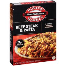 Boston Market Home Style Meals Beef Steak & Pasta