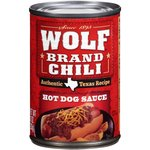 Wolf Brand Chili Hot Dog Sauce