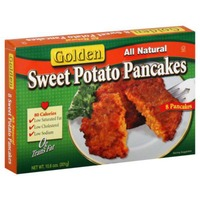 Golden. Sweet Potato Pancakes