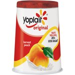 Yoplait Original Harvest Peach Yogurt