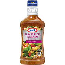 Kraft Salad Dressing: Dressing & Marinade Sun Dried Tomato Vinaigrette