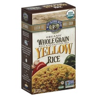Lundberg Family Farms Organic Whole Grain Yellow Rice Rice & Seasoning Mix