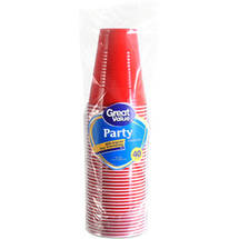 Great Value Party 9 oz Plastic Cups