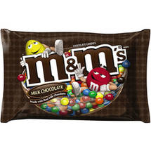M&Ms Milk Chocolate Candies Large Bag