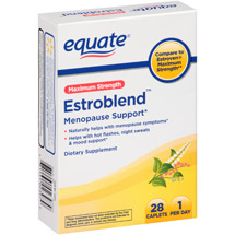 Equate Maximum Strength Estroblend Menopause Support Caplets