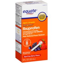 Equate Infants' Berry Flavor Ibuprofen