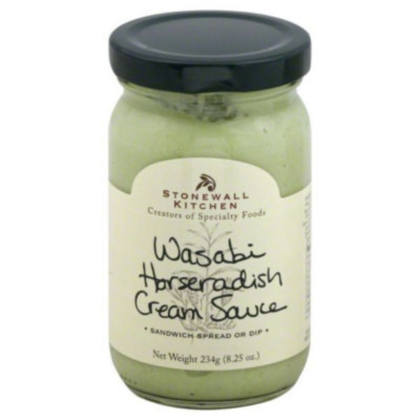 Stonewall Kitchen Wasabi Horseradish Cream Sauce