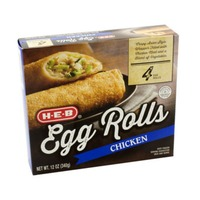 H-E-B Chicken Egg Rolls