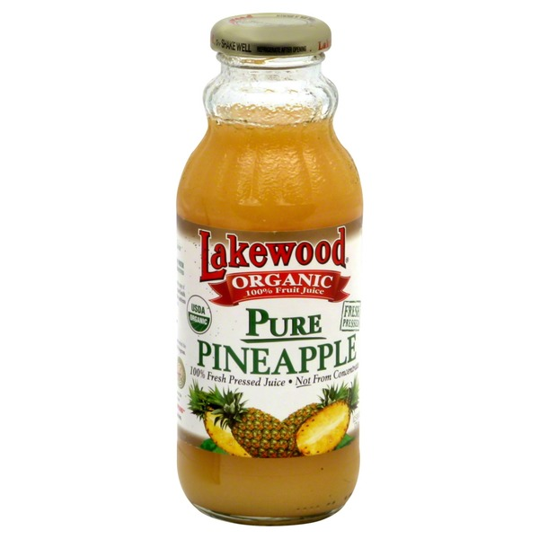 Lakewood 100% Juice, Pure Pineapple
