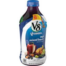 V8 V-Fusion 100% Acai Mixed Berry Juice