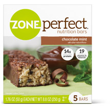 Zone Perfect Chocolate Mint 1.76 Oz Nutrition Bar