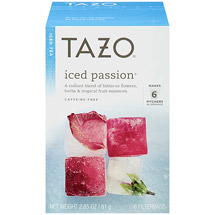 Tazo Iced Passion Tea